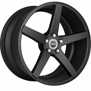 20 Inch Perfetto Stealth Black Wheels Rims Tires Fit 5 X 114 3 Special Offers