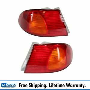 Outer Taillight Pair For Toyota Corolla 1998 2001 2002