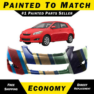 New Painted To Match Front Bumper Cover For 2009 2013 Toyota Matrix 5211902994