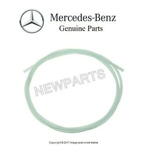 New For Mercedes R107 W140 W211 Vacuum Line Transparent 1 0 X 5 0 Mm 0019973952