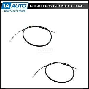 Emergency Parking Brake Cable Left Right Pair For Volvo V70 X c S70 Awd