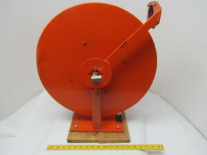 Gleason Reel L2004 a2 06 800 Psi Spring Retracting Air fluid Hose Reel 3 8 50