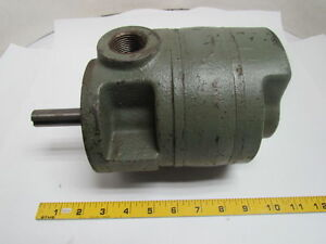 Brown Sharp 525 Gear Pump 3 4 Shaft 1 Port