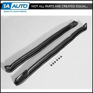 Windshield Pillar Weatherstrip Seals Rubber For Buick Pontiac Chevy Convertible