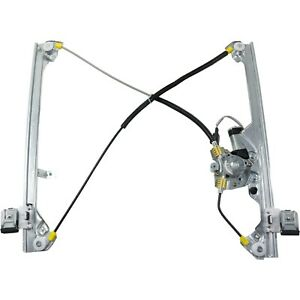 Power Window Regulator For 99 06 Silverado 1500 Front Lh With Motor
