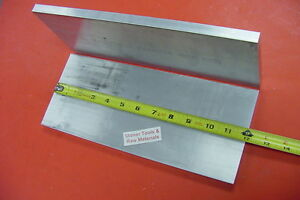 2 Pieces 1 2 X 6 Aluminum 6061 Flat Bar 12 Long 500 Plate Mill Stock Solid