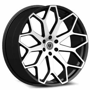 24 X 8 5 Inch Borghini B28 Black Wheels Rims Tires Fit 5 X 114 3 Visit My Page