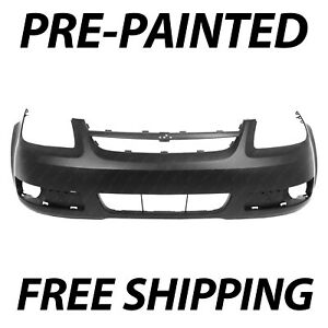 New Painted To Match Front Bumper Cover For 2005 2006 2007 Chevy Cobalt Lt