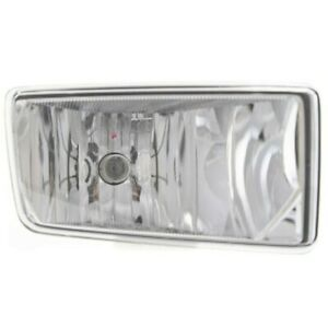 Clear Lens Fog Light Right For Suburban Silverado Hd Avalanche Tahoe With Bulb