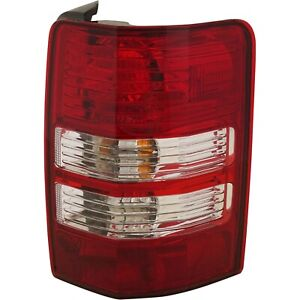 Tail Light For 2008 2012 Jeep Liberty Passenger Side