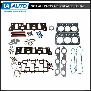 Engine Cylinder Head Gasket Set With Head Bolts For Chevy Olds Buick Gm V6 3 8l