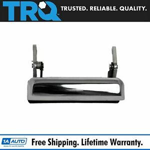 Tailgate Tail Gate Handle Chrome Rear For Ford F150 F250 F350 Ranger Mazda