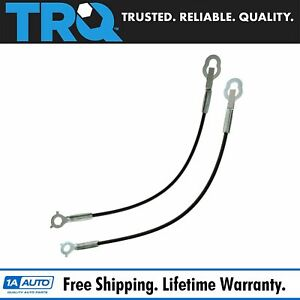Tailgate Cable Stay Pair Set For 07 13 Toyota Tundra Pickup Truck