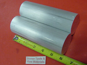2 Pieces 2 1 8 Aluminum 6061 Round Rod 6 Long Solid Extruded Lathe Bar Stock