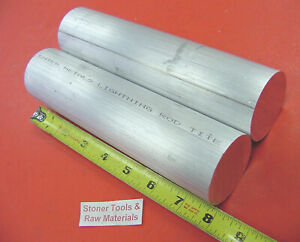 2 Pieces 2 1 4 Aluminum 6061 Round Rod Bar 8 Long Solid Lathe Stock 2 25 Od