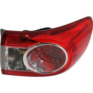 Tail Light For 2011 2013 Toyota Corolla Usa Built Assembly Right