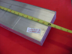 2 X 6 Aluminum 6061 Flat Bar 24 Long Solid T6511 2 00 Plate Mill Stock