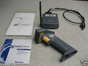 Intermec Sabre 1552 Wireless Barcode Scanner 9745 Base Station