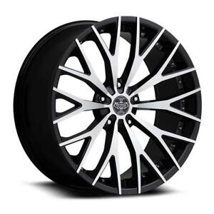Verde Ve 240 22 Black M Wheels Rims Tires Fit Camaro Ridgline Accord Dts Bmw X6
