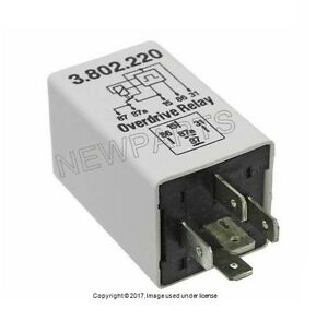 For Volvo 240 244 245 745 760 780 940 Overdrive Relay White K a e 3523804