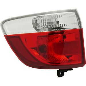 Tail Light For 11 13 Dodge Durango Driver Side Outer
