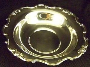 Gorham Silver Rondo Like Melrose Pattern Lrg Serving Bowl Serving Tray Dish