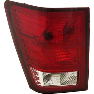 Tail Light For 2007 2010 Jeep Grand Cherokee Driver Side