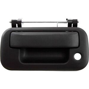 Tailgate Handle For 2004 2013 Ford F 150 With Keyhole Textured Black Exterior