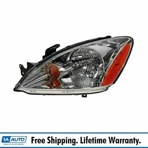 Headlight Headlamp W Clear Lens Driver Side Left Lh New For 04 07 Lancer