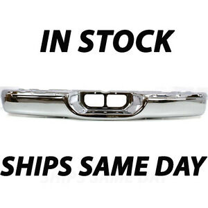 New Chrome Steel Rear Step Bumper For 2000 2006 Toyota Tundra Truck 521510c021