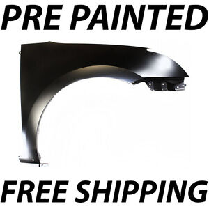New Painted To Match Passengers Front Right Fender For 2007 2012 Nissan Sentra