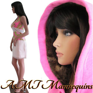 35 25 35 Hgt 5ft 10 Female Sexy Mannequin Dress Form Manikin katie 1wig Ly