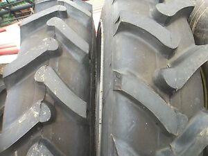 Two John Deere H 9 5x32 6 Ply Rear Tractor Tires 2 500x15 3 Rib W tubes