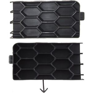 Fog Light Cover For 2004 2006 Scion Xb Set Of 2 Lh And Rh Textured Black Plastic