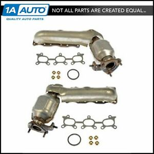 Dorman Exhaust Manifold W Catalytic Converter Lh Rh Pair For Tracker Vitara