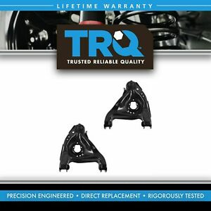 Front Lower Control Arms W Ball Joints Pair Set New For Chevy Gmc Isuzu