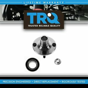 Front Rear Wheel Hub Bearing Kit Set For Mazda Miata Protege