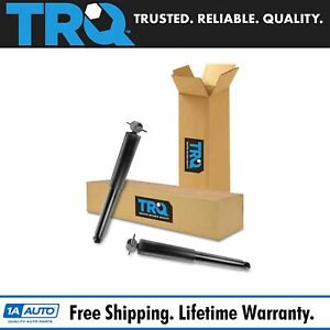 Trq Rear Shock Absorber Left Driver Right Passenger Pair For 97 06 Jeep Wrangler