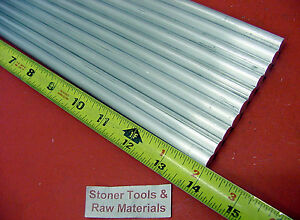 10 Pieces 3 8 Aluminum 6061 Round Rod 14 Long T6511 375 Solid Lathe Bar Stock