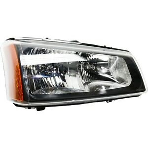 Headlight For 2003 2006 Chevy Silverado 1500 3500 Right Fluted Reflector