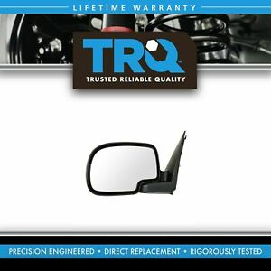 Trq Chrome Power Mirror Left Lh Driver Side For 99 02 Silverado Sierra Truck