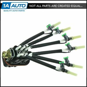 Central Port Fuel Spyder Injector Injection Assembly For Gmc Chevy Pickup 4 3l
