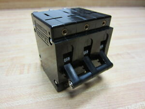 Sanken Upl 111 Airpax Circuit Breaker 40a 3pole Upl111 9237 Delay 600