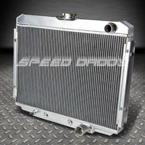 For 67 70 Ford Mustang mercury Cougar V8 3 row Aluminum Core Racing Radiator