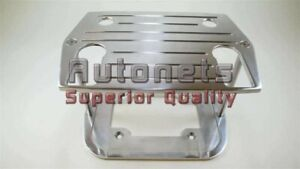 Polished Aluminum Optima Battery Tray Group 75 35 Ball Milled Street Hold Down