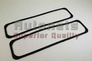 87 00 Small Block Chevy Reusable Center Bolt Valve Cover Gaskets Sbc 305 350 5 0