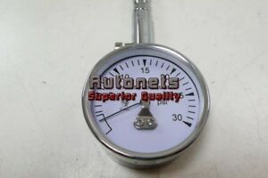 High Performance Tire Air Pressure Gauge 0 30 Psi 2 Quick Bleed Valve Hot Rod