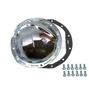Gm Chevy Chrome Steel Rear Differential Cover 8 875 8 7 8 Ring Gaskets 12 Bolt
