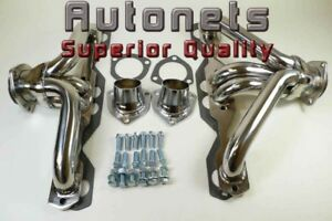Stainless Steel 55 57 Small Block Chevy Hugger Header Sbc Tri Y Shorty Corvette