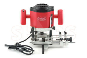 Shars 1200w Fixed base Woodwork Router W Wrench 2 Collets New